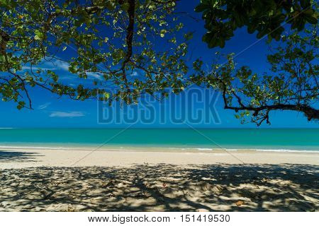 Tropical beach of Khao Lak in Thailand