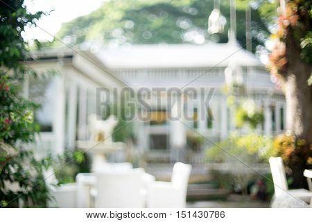 Blur White Small Classic House