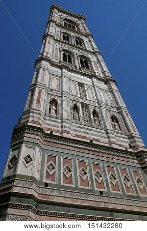 Beautiful view of The Duomo in Florence, ITALY