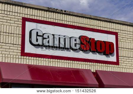 Kokomo - Circa October 2016: GameStop Strip Mall Location. GameStop is a Video Game and Electronics Retailer II