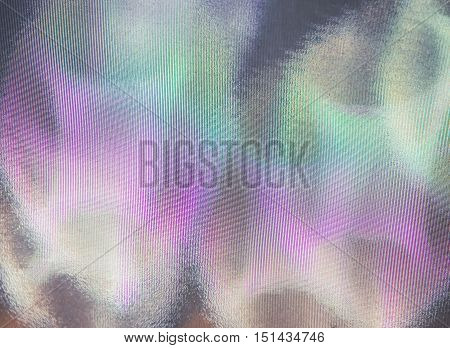 Color shiny motion on the wall of the mirror , Abstract background