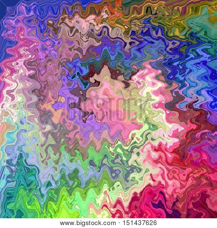 Abstract coloring background of the color harmonies gradient with visual spherize, lighting, wave and twirl effects