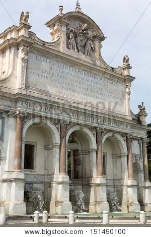 The Fontana dell'Acqua Paola also known as Il Fontanone (