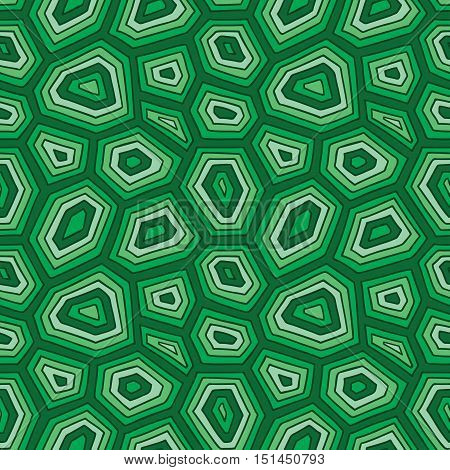ornate turtle shell pattern. vector seamless pattern with hand drawn doodle turtle shell