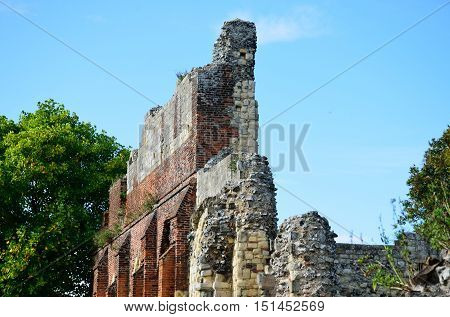 Ruins of Abbey of St Augustine Canterbury