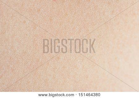 Ligth Clean Human Skin