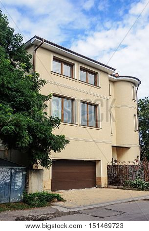 Residential house with garage in Odessa Ukraine