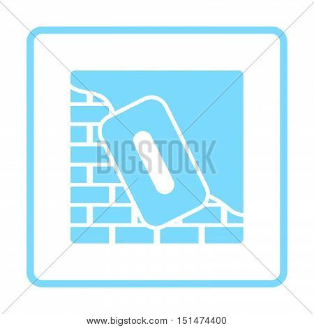 Icon Of Plastered Brick Wall