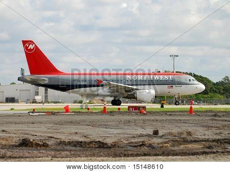 Northwest Airlines Passenger Jet