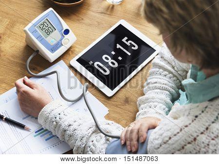 Senior Healthcare Wellness Lifestyle Concept