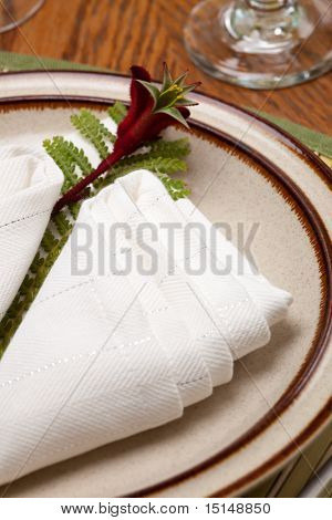 Exotic Theme Table Setting