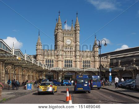 Temple Meads Station In Bristol