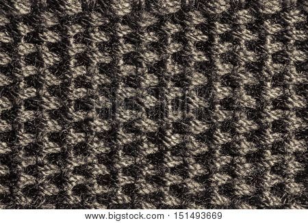 Gray strap texture. Close up photo for background.