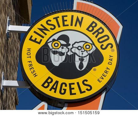 Einstein Bros. Bagel Sign And Logo