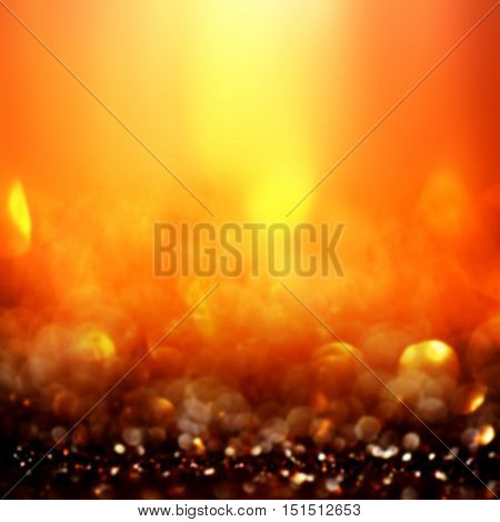 Smooth abstract blur background with gradient effect. Blurry festive background. Caramel, camel color