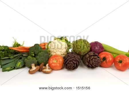 Whole Raw Vegetables