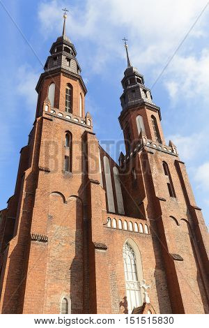 Cathedral Basilica of the Holy Cross Opole Poland