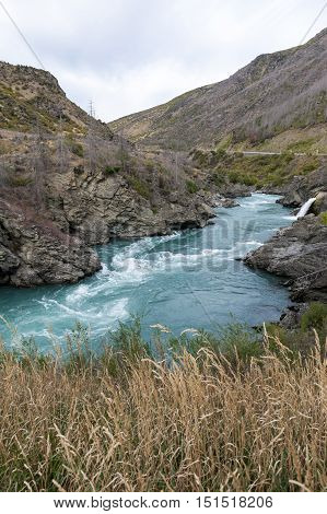 The Roaring Meg (te Wai A Korokio) The Turbulent Stream That Both Drives This Hydro Electric Power S