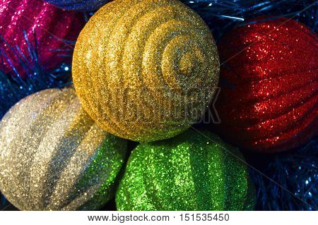 New Year's ornaments toy, holiday, christmas, december, ornament, pleasure eve curl celebratory sphere decorative