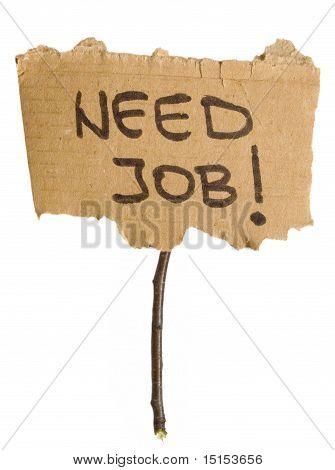 need job title