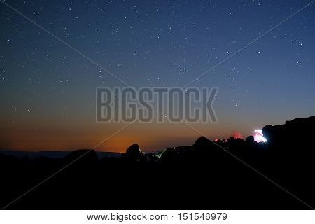 Stars And Mountain Camp