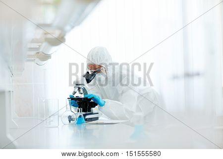 Biohazard research