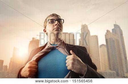 A modern superman