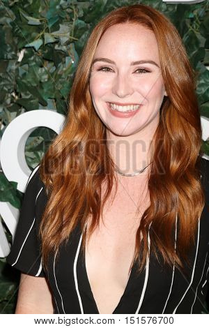 LOS ANGELES - OCT 10:  Camryn Grimes at the CBS Daytime #1 for 30 Years Exhibit Reception at the Paley Center For Media on October 10, 2016 in Beverly Hills, CA