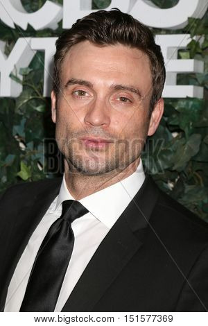 LOS ANGELES - OCT 10:  Daniel Goddard at the CBS Daytime #1 for 30 Years Exhibit Reception at the Paley Center For Media on October 10, 2016 in Beverly Hills, CA