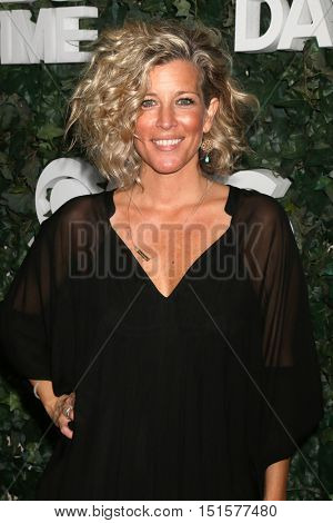 LOS ANGELES - OCT 10:  Laura Wright at the CBS Daytime #1 for 30 Years Exhibit Reception at the Paley Center For Media on October 10, 2016 in Beverly Hills, CA
