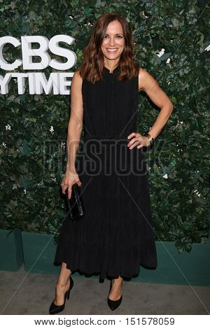 LOS ANGELES - OCT 10:  Rebecca Budig at the CBS Daytime #1 for 30 Years Exhibit Reception at the Paley Center For Media on October 10, 2016 in Beverly Hills, CA