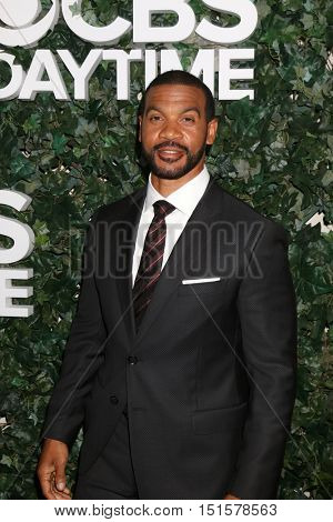 LOS ANGELES - OCT 10:  Aaron D Spears at the CBS Daytime #1 for 30 Years Exhibit Reception at the Paley Center For Media on October 10, 2016 in Beverly Hills, CA