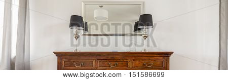 Stylish Wooden Commode