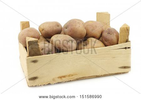 freshly harvested dutch potatoes called