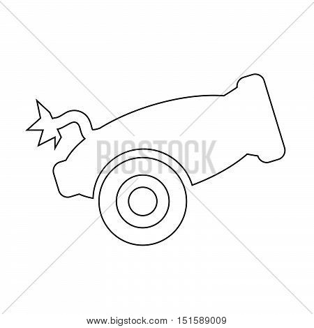 an images of Cannon icon illustration design