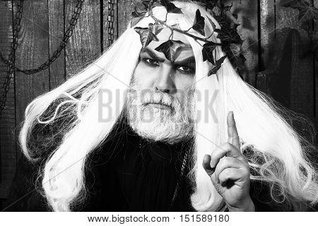Zeus Man With Beard