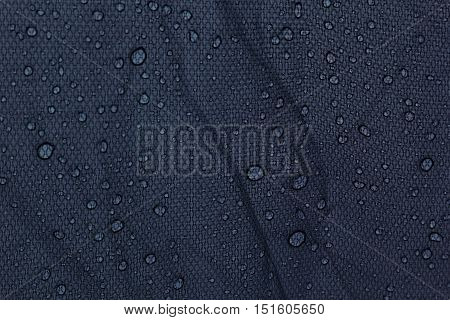 Water drops on a dark gray background. Abstract background.
