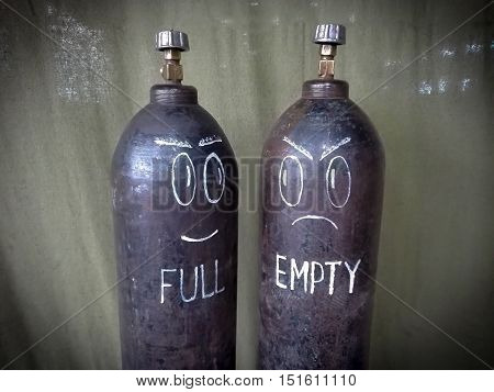 Two Funny Cylinder Gas