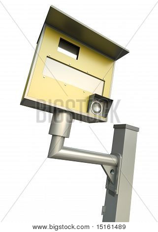 Traffic speed camera