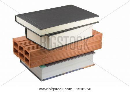 Bücher und Backstein
