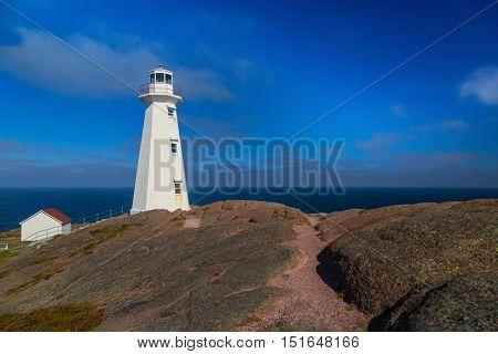 Cape Spear lighthouse, Newfoundland, Canada