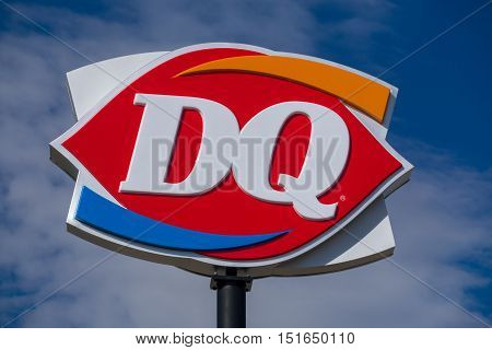 Dairy Queen Restaurant Sign And Logo