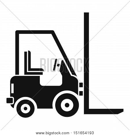 Stacker loader icon. Simple illustration of stacker loader vector icon for web