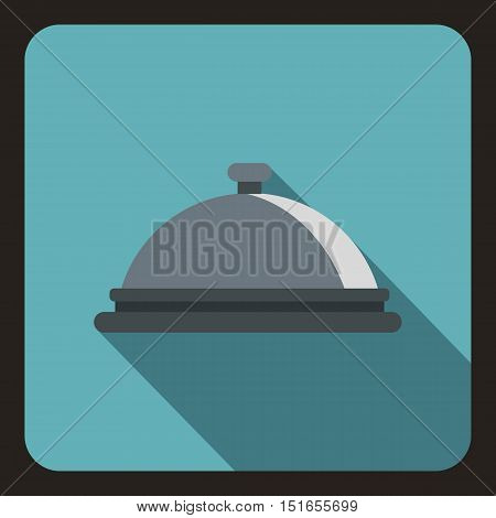 Cloche icon. Flat illustration of cloche vector icon for web