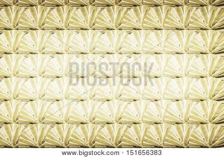Texture made of plants. Yellow golden texture of a plant called Yucca.