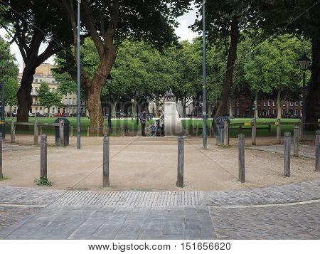 Queen Square In Bristol