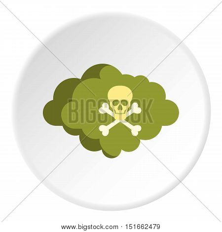 Deadly air icon. Flat illustration of deadly air vector icon for web