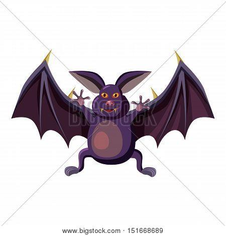 Bat icon. Cartoon illustration of bat vector icon for web