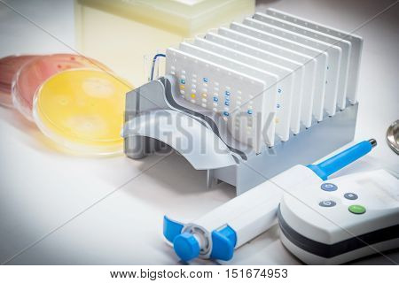 Biochem Test  Automate For Identified Pathogen In Microbiology Room.