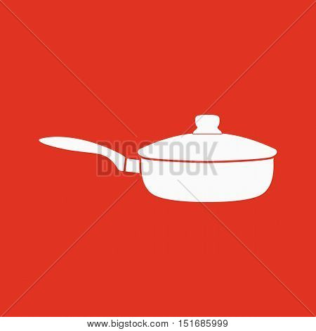 The pan icon. Dripping Pan symbol. Flat Vector illustration